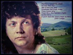 John Lodge of the Moody Blues Justin Hayward, Classical Music Composers, Moody Blues, Rare Photos, Mystery, Lyrics, Lodges, Board, Piano