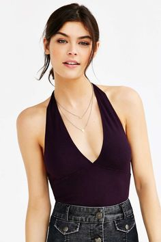 Truly Madly Deeply Perfect Halter Top #UrbanOutfitters