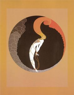Erte's use of background to inform his figures will never cease to blow my mind.