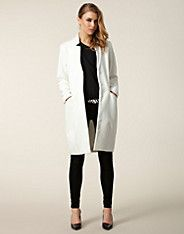 Allure Coat - Issue 1.3 - White - Jackets and coats - Clothing - NELLY.COM