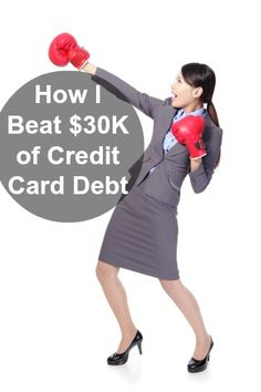 How I Paid Off $30K of Credit Card Debt