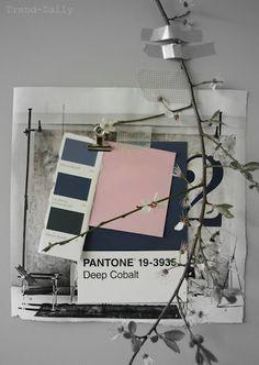 STIL INSPIRATION: Moodboard   Spring colour