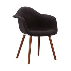 Cashmere Charcoal Arm Chair - Dot & Bo