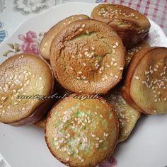 Resipi Kuih Bakar Pandan Sedap Guna Sukatan Cawan. - RASA Rasa Malaysia, Vanilla, Muffin, Traditional, Breakfast, Singapore, Food, Meal, Eten