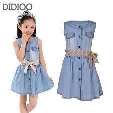 915e6486b Resultado de imagen para vestidos para niña de 12 años casuales Modelos De  Vestidos Jeans,