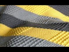 Crochet Afghan, very unqiue pattern! Afghan Patterns, Crochet Blanket Patterns, Crochet Stitches, Knitting Patterns, Knit Crochet, Crochet Blankets, Baby Afghan Crochet, Manta Crochet, Baby Afghans