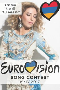 """Eurovision Song Contest Armenia - """"Fly With Me"""" By Artsvik Eurovision 2017, Armenia, Pop Music, Blogging, Europe, Party Ideas, Songs, Group, My Love"""