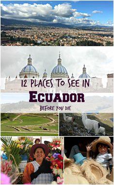 My Ecuador Bucket Li