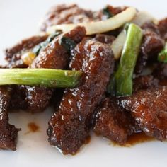 Mongolian beef...This was sooo good and surprisingly it turned out looking just like the Picture!