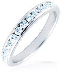 Alianza de boda de oro blanco con diamantes Jóias Com Diamantes, Estilos De  Casamento, 8307f41fd8