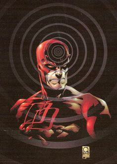 Daredevil by Joe Quesada and Jimmy Palmiotti, colours by Atomic Paintbrush * Comic Book Artists, Comic Book Heroes, Comic Artist, Comic Books Art, Marvel Vs, Marvel Heroes, Marvel Characters, Daredevil Elektra, Comic Book Collection