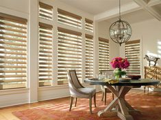 Sew Stylish Designs offers full service custom shades, Hunter Douglas blinds and plantation shutters from Graber and Horizons. Hunter Douglas, Interior Wood Shutters, Interior Doors, Motorized Blinds, Cleaning Blinds, Custom Blinds, House Ideas, Faux Wood Blinds, Custom Shades
