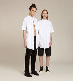 The same item is shown on male and female for the Selfridges online store. Agender campaign