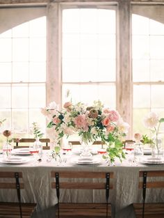 Photography : Charla Storey Photography Read More on SMP: http://www.stylemepretty.com/2015/10/28/elegant-ethereal-wedding-inspiration-at-the-trinity-institute/