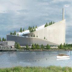BIG Amager Bakke Waste-to-Energy Plant
