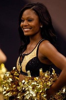 Hottest New Orleans Saints or Saintsations cheerleaders