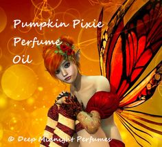 PUMPKIN PIXIE Perfume Oil  Pumpkin Juicy by DeepMidnightPerfumes