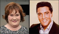 Britain's Got Talent's Susan Boyle Records Christmas Duet with Elvis Magical Christmas, Christmas Music, Christmas Duets, The Pogues, Britain Got Talent, Bing Crosby, Michael Buble, Celine Dion, Elvis Presley