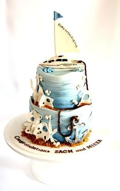 Die 99 Besten Bilder Von Maritim Fondant Cakes Birthday Cakes Und