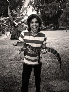 Zac w wildlife