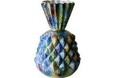 Glazed Italian Pineapple Vase on OneKingsLane.com $850/399