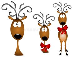 Royalty Free Illustrations and Royalty Free Clip Art Images - Page 7 Cartoon Reindeer, Rudolph Red Nosed Reindeer, Reindeer Face, Reindeer Antlers, Christmas Face Painting, Christmas Drawing, Christmas Art, Christmas Stuff, Christmas Doodles