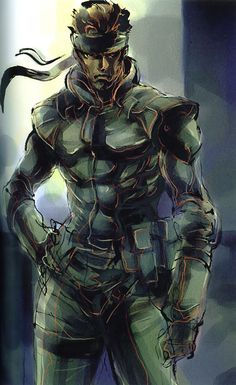 Metal Gear Solid: Snake - you will never know how bad ass this nigga is