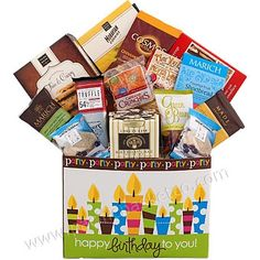 Happy Birthday Gift Pacific Basket Company Special Occasion Gifts