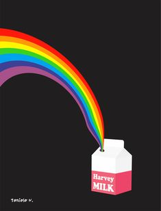MILK, HARVEY MILK » Pop art