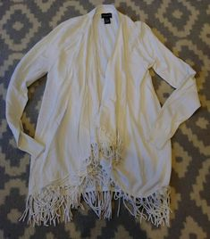 Central Park West Cream Cardigan Sweater Size Small  fashion  clothing   shoes  accessories  womensclothing  sweaters (ebay link) e64a751f3