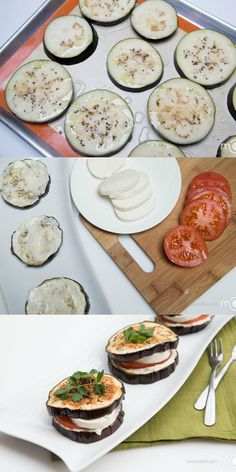 Eggplant Sandwiches Recipe- filling, gluten free and healthy! YUMM!  For more support for healthy living, visit MissionHealthyPeople.com or like us on Facebook.com/MissionHealthyPeople