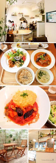 Another great cafe in Gakugeidaigaku Tokyo - Midorie Organic Cafe