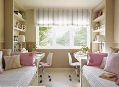 Habitaciones compartidas | Decorar tu casa es facilisimo.com