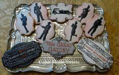 Great Gatsby cookies      http://www.facebook.com/cajunhomesweet