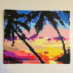 Sunset - landscape hama beads by  _lvbradley_