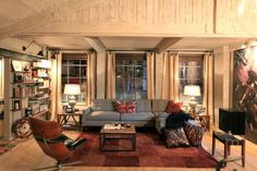 Kate Beckett's Loft Apartment in Castle