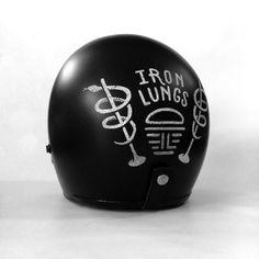 Iron Lungs Helmet Design by Matylda Mcilvenny