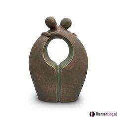 Keramische beeld urn