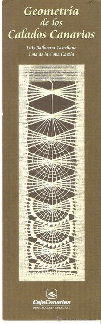 мережка Marcapáginas Obra Social y Cultural CajaCanarias - Geometría de los Calados Canarios Embroidery Patterns Free, Hand Embroidery Stitches, Embroidery Hoop Art, Hand Embroidery Designs, Embroidery Techniques, Ribbon Embroidery, White Embroidery, Needlepoint Stitches, Needlework