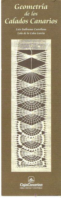 Marcapáginas Obra Social y Cultural CajaCanarias - Geometría de los Calados Canarios