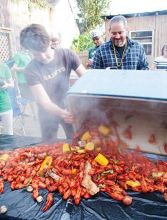 Backyard Boil with Riad – A Nonstop Eating Trip to New Orleans with Riad Nasr and Lee Hanson - Bon Appétit Great Recipes, Favorite Recipes, Louisiana Recipes, New Orleans Travel, Creole Recipes, New Orleans Louisiana, Bon Appetit, Good Food, Cooking