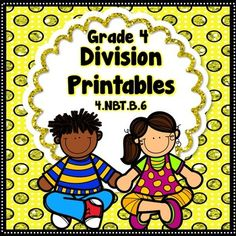 Division with 1-digit divisors - 48 No Prep Printables36 of the no prep worksheets have 6 division equations that students need to solve..the students then write a multiplication equation to check their division (space is provided).  The remaining 12 worksheets the students need to determine the unknown in division equations (dividends, divisors or quotients).-6 printables = 2 digit dividend and 1 digit divisor (no remainders)-6 printables = 3 digit dividend and 1 digit divisor (no remainder... Teaching Division, Remainders, Math Resources, Task Cards, Math Centers, Special Education, Teacher Pay Teachers, Prepping, Printables