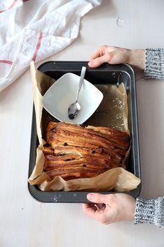 Odrywane ciasto drożdżowe - przepis Marty
