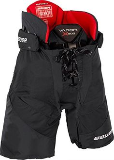 Bauer Vapor X900 Ice Hockey Pants - Junior - X-Large - Black ** Learn more by visiting the image link.