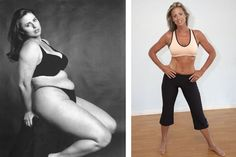 Hot yoga weight loss before and after