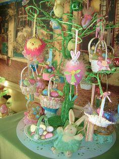 Adorable Easter Tree Idea !