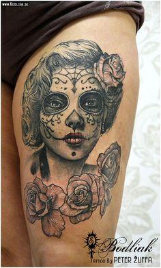 Peter Žuffa 2016 #art #tat #tattoo #tattoos #tetovanie #original #tattooart #slovakia #zilina #bodliak #bodliaktattoo #bodliak_tattoo #portrait_tattoo #muerte_tattoo