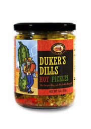 DUKER'S DILLS hot pickles. Portland, Oregon (O / USA)