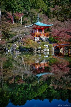 Kyoto Temple by Greg McLain, via 500px