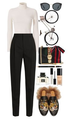 """Date."" by ellie-directioner on Polyvore featuring Gucci, A.L.C., Yves Saint Laurent и Prada"